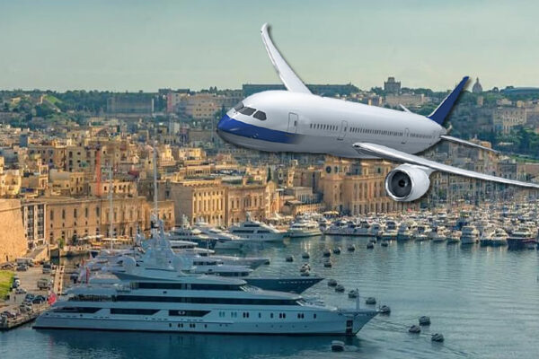 airplane yacht, registration