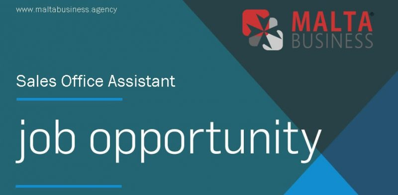 Malta Business - Agency Job-Opportunity-Salel-Office-Assistant Carrers