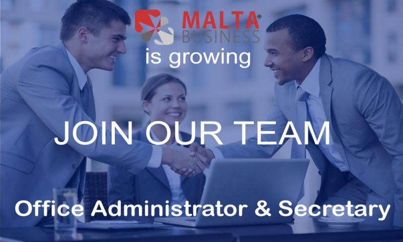 Malta Business - Agency Office-Administrator-Secretary-1000x600 Carrers